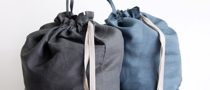 pickup and delivery laundry bags